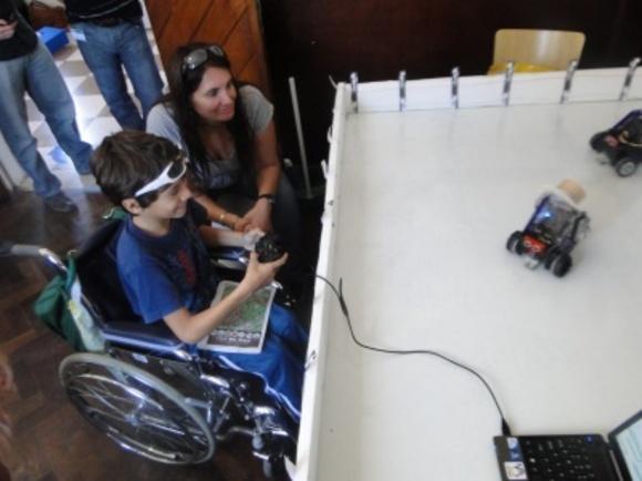 Programando con Robots en TEC La Plata 2012