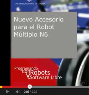 Nuevo accesorio robot múltiplo N6 id