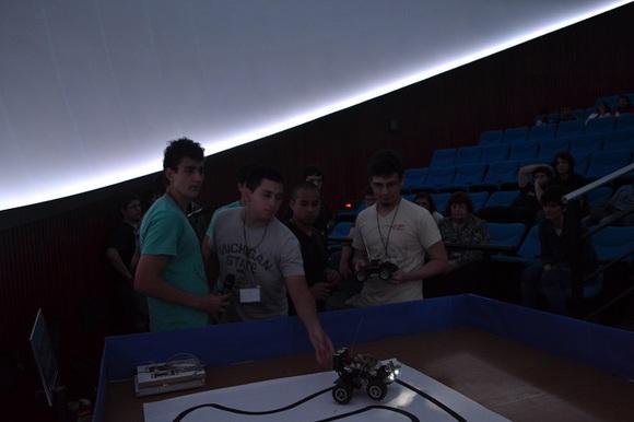 Robots en el Planetario