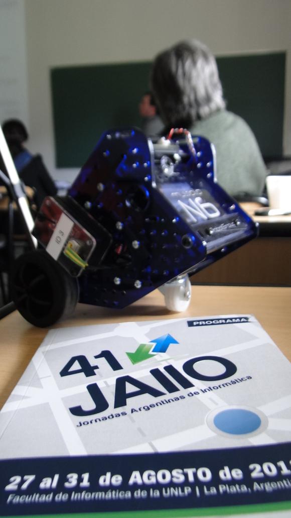 Robots en las 41 JAIIO