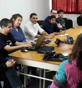 Se realizó la I Jornada de Educando con Robots en la Facultad de Informática